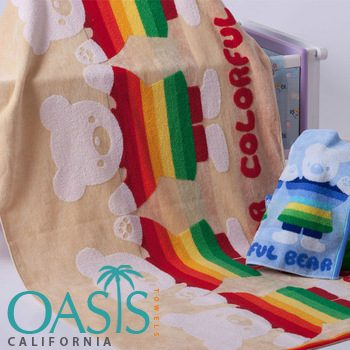 Wholesale Grand Teddy Etched Towels Manufacturer