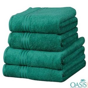 Wholesale Green Egyptian Towel Set Manufacturer