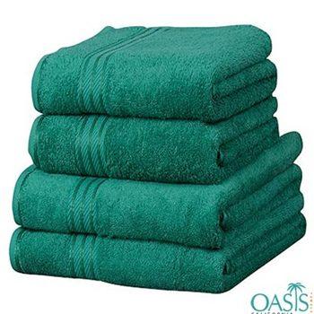 Wholesale Green Egyptian Towel Set Manufacturer