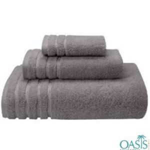 Wholesale Sleek Grey Egyptian Towels Manufacturer