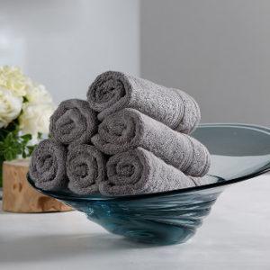 Wholesale Grey Luxury Towel Set Manufacturer