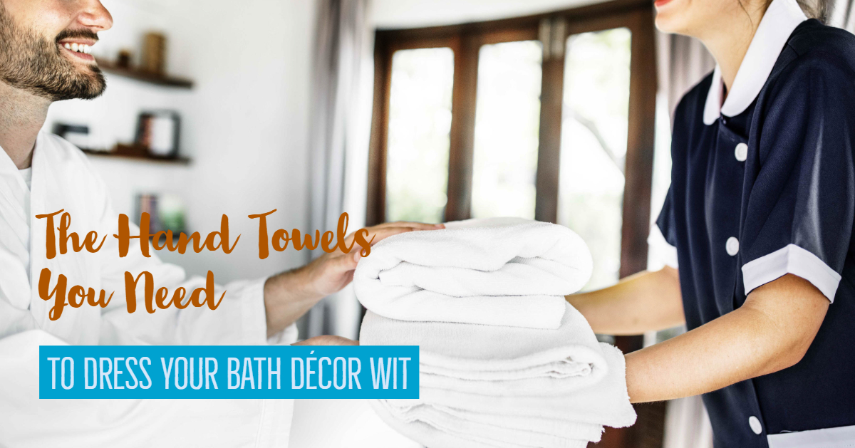 The Hand Towels You Need To Dress Your Bath Décor With