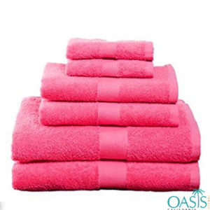 Summer Splash Pink Custom Towels Manufacturer