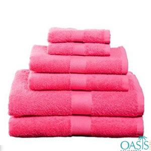 Summer Splash Pink Custom Towels Manufacturer