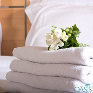 Wholesale Radiant White Hotel Towels Manufacturer