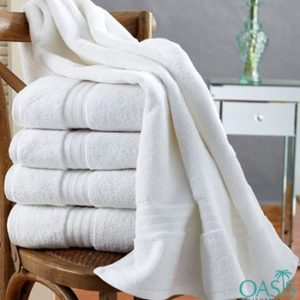 Wholesale Smooth White Hotel Towels Manufacturer