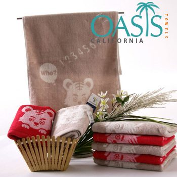 Wholesale Towels Huey Base Velvety Motifs USA