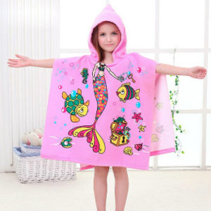 Wholesale Cute Caricatured Kids Beach Towels Manufacturer