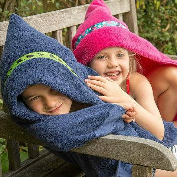 Kids Blue Egyptian Towels Wholesale