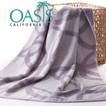 Wholesale Velvet Web in Lavender Towels Manufacturer