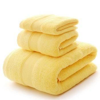 Mellow Yellow Egyptian Towel Sets Manufacturer