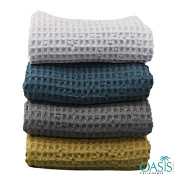 Wholesale Organic Hand Towels In Colorful Set Manufacturer