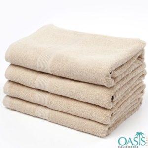 Wholesale Soft Cream Organic Towels Manufacturer