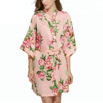 Wholesale Cute Peach Bathrobe