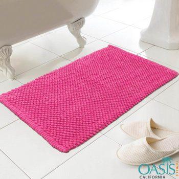 Wholesale Hot Pink Bath Mat Manufacturer