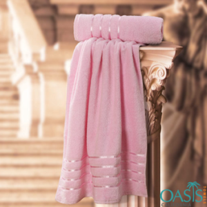 Wholesale Pink Hand Towels Manufacturer