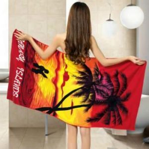 The Colourful Custom Printed Beach Towels Wholesale Manufacturer