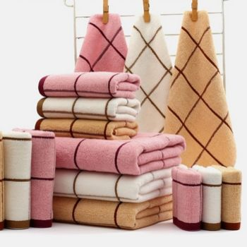 Wholesale Pure Checks Bath Towels