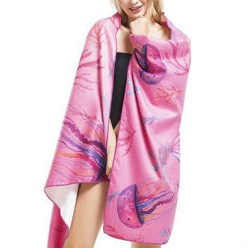 Wholesale Purple Decorative Sublimation Towels Manufacturer