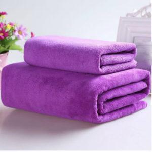 Wholesale Colorful Pretty Purple Striped Sublimation Towels Manufacturer