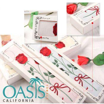 Rose Patterned Towels Wholesale Manufacturer