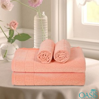 Wholesale Grapefruit Orange Custom Towels Manufacturer