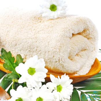 Soft Cream Custom Towels Manufacturer
