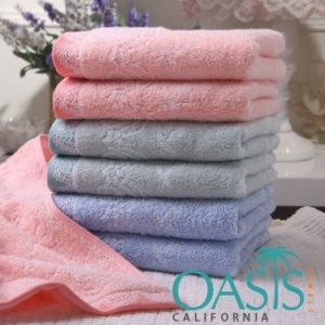 Wholesale Peppermint Self Designed Towels Manufacturer