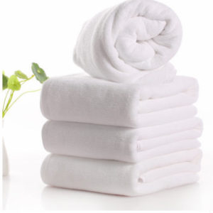 Wholesale Snow White Custom Towels