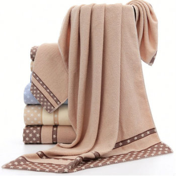 Wholesale Soft Brownish Gold Custom Towels Manufacturer