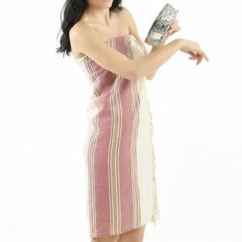 Wholesale Multi Color Stripe Bath Towels Manufacturer i