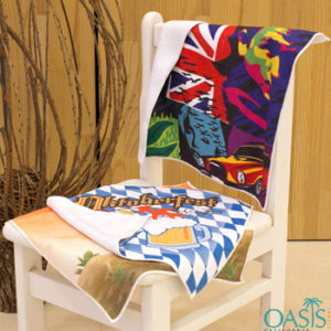 American Beach Holiday Wholesale Sublimation Towels Manufacturer