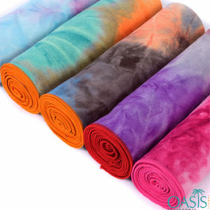 Tie and Dye Effect Wholesale Sublimation Towels Manufacturer