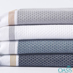 Wholesale Basket Weave Turkish Towels Manufacturer