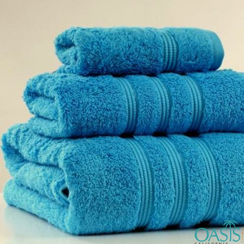 Wholesale Serene Blue Wholesale Turkish Towel Set Manufacturer