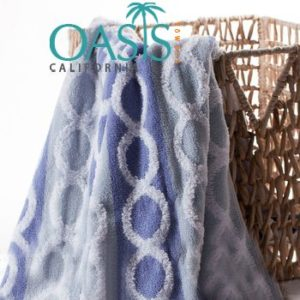 Wholesale Velvet Chain in Blue Towels Manufacturer