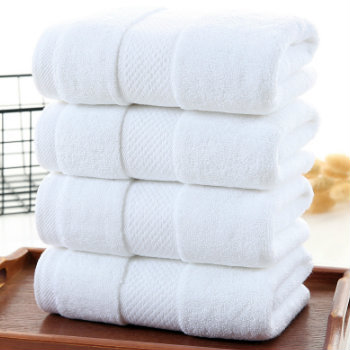 Wholesale High Quality White Designer Organic Spa Towels Manufacturer