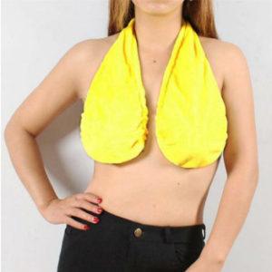 Yellow Gorgeous Tata Towel Bra Manufacturer