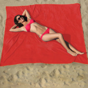 Wine Red Beach Towels Wholesale