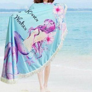 Womens Mermaid Beach Towels Wholesale Manufacturer