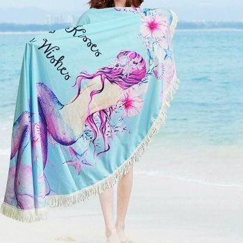 Womens Mermaid Beach Towels Wholesale Manufacturer